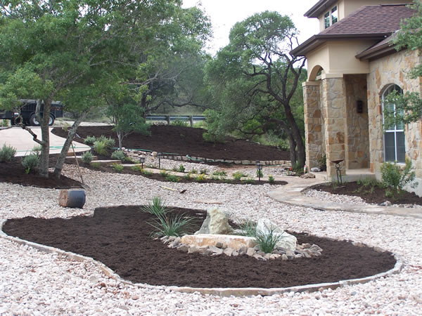 all rock landscaping ideas  photo - 2