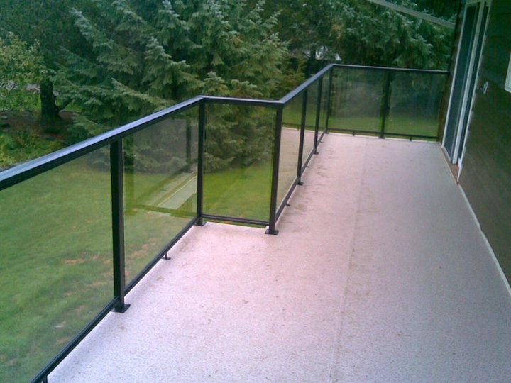 Aluminium Glass Deck Railing 187 Design And Ideas