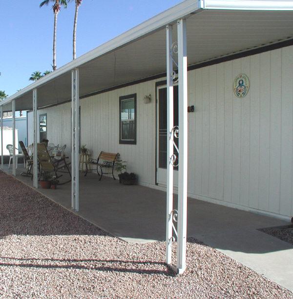 aluminum patio awning posts Design and Ideas