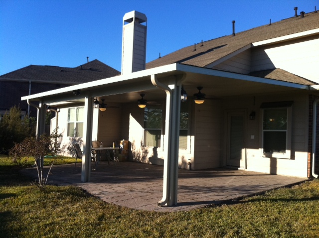 aluminum patio covers austin tx