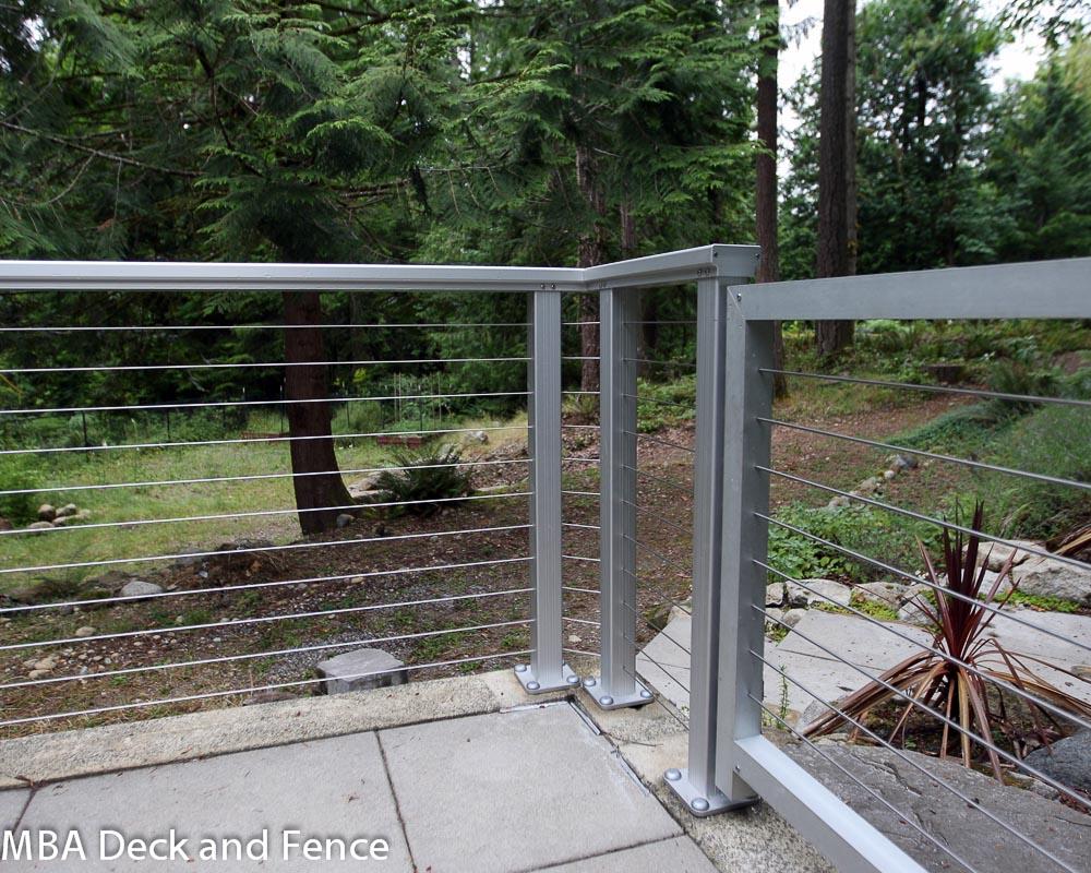 Aluminum Wire Deck Railing 187 Design And Ideas