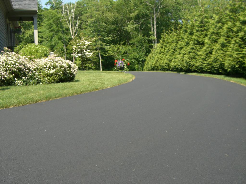 asphalt driveway landscaping ideas  photo - 3