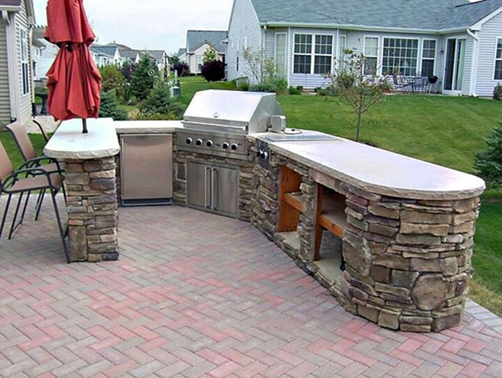 Ordinaire Backyard Bbq Design Ideas