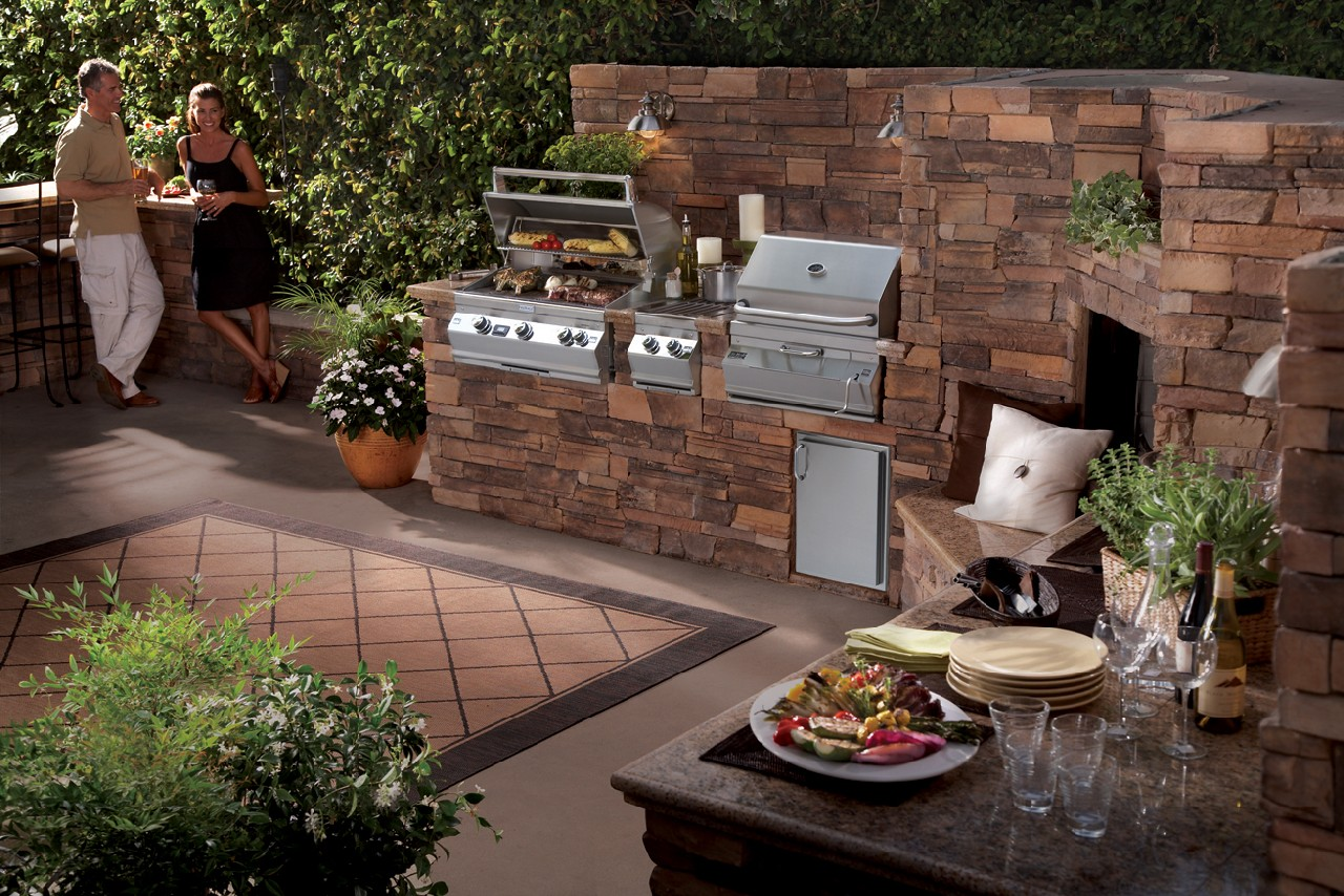 building backyard bbq ideas design and ideas