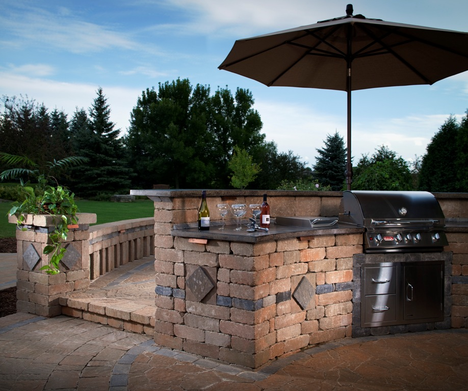 backyard bbq island ideas