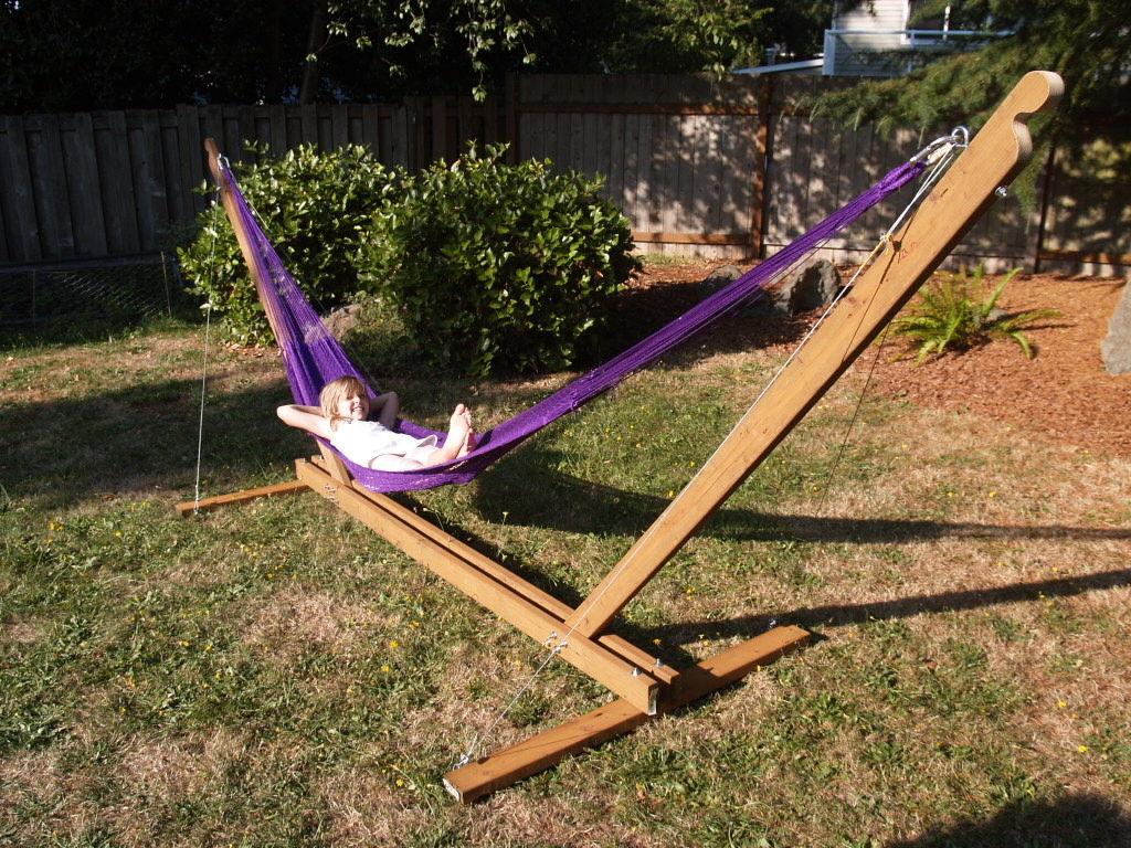 Backyard Hammock Stand Diy Design And Ideas