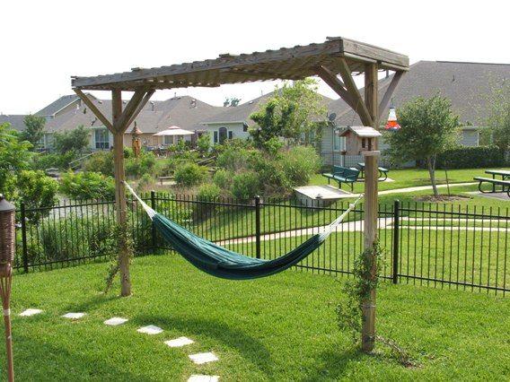 Backyard Hammock Stand Outdoor Goods - Backyard hammock ideas