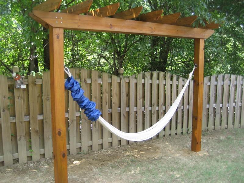 Backyard Hammock Stand Diy Design And Ideas - Backyard hammock ideas