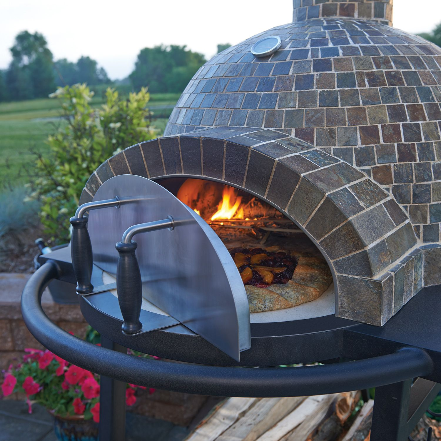 backyard pizza oven and grill