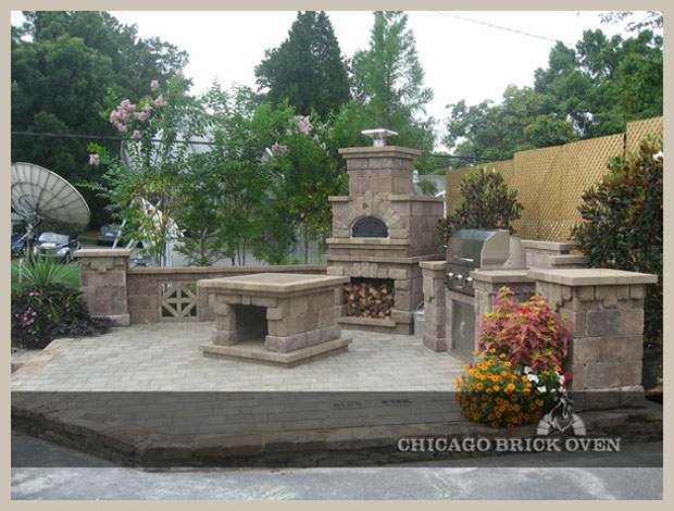 Charming Backyard Pizza Oven Kit Photo   2