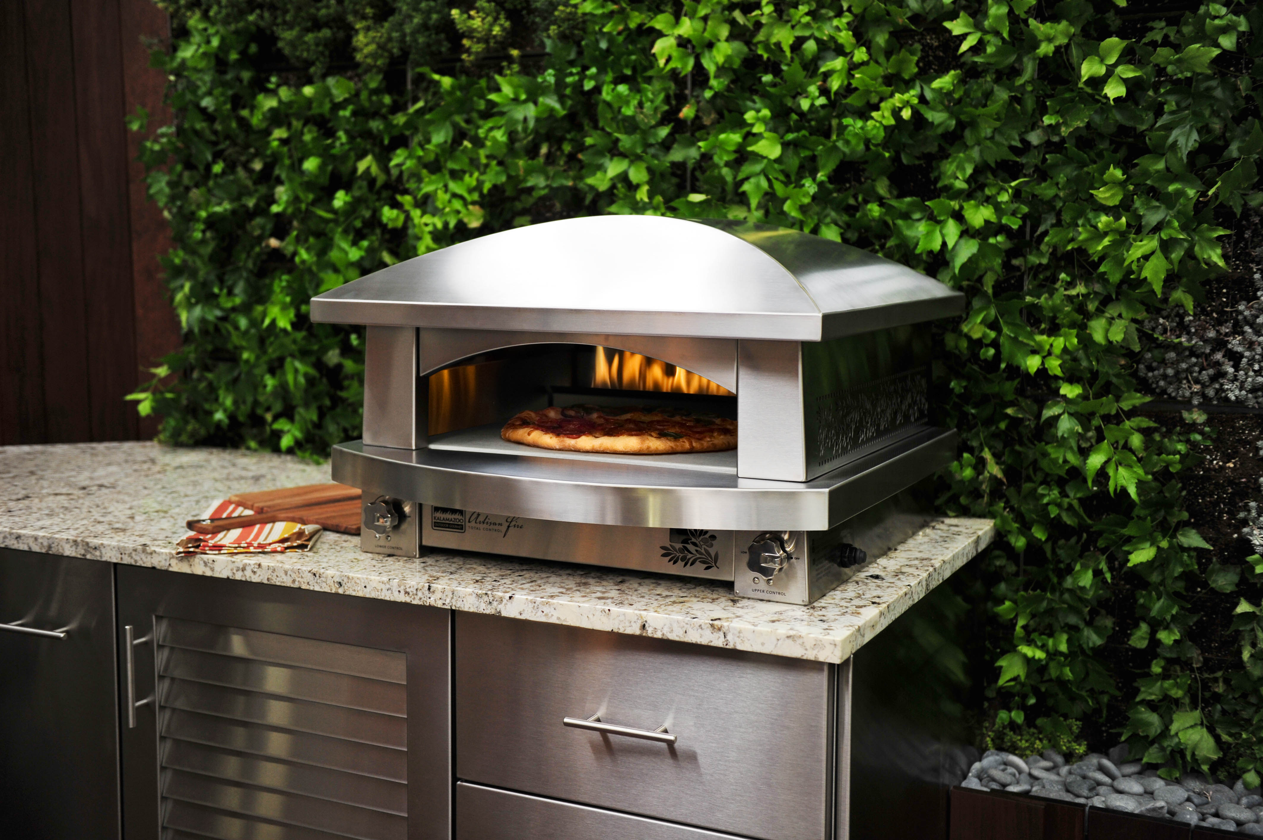 backyard pizza oven pictures