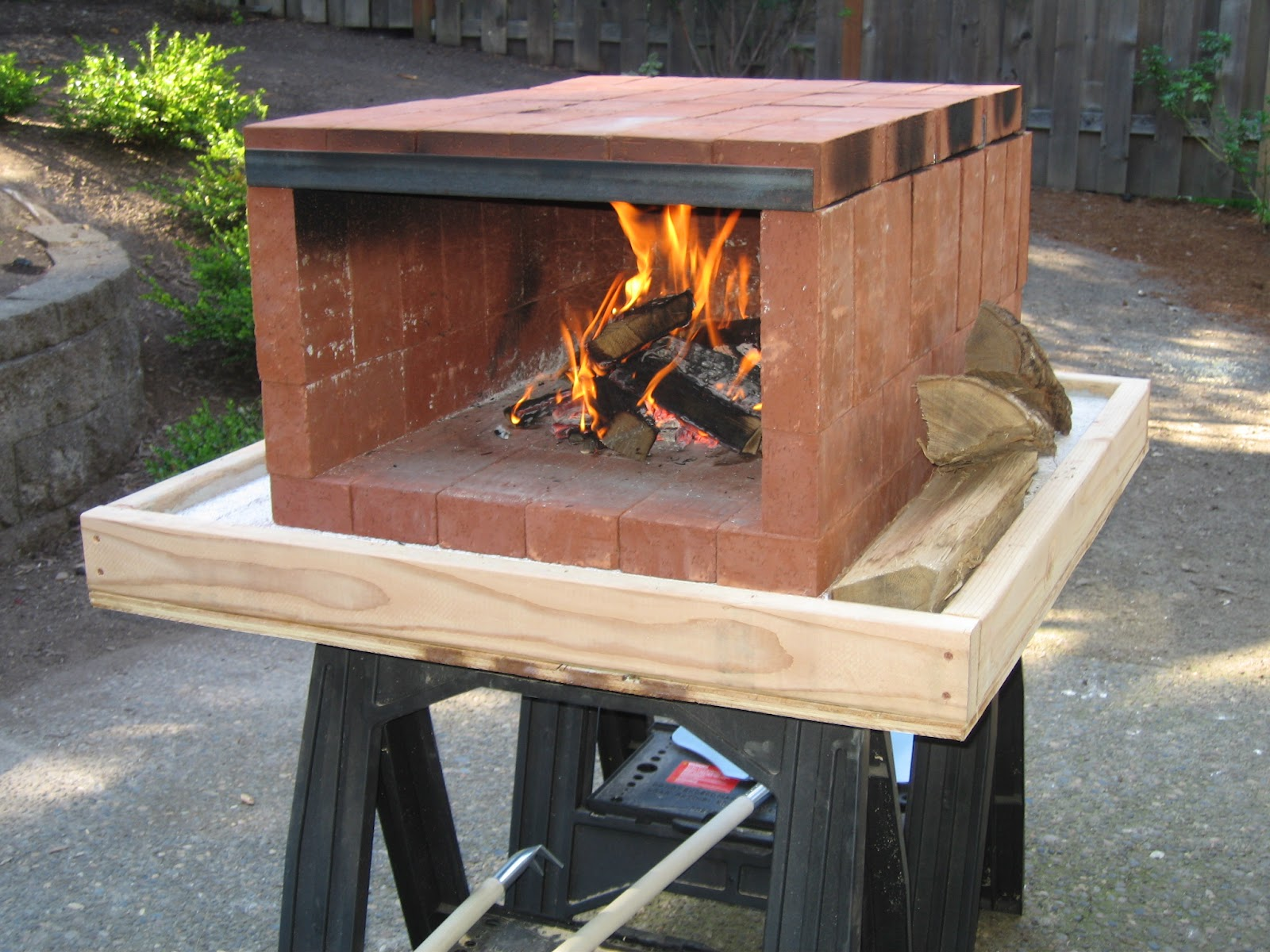 backyard pizza oven portable