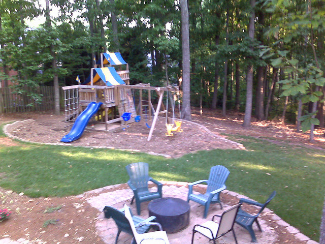 backyard playground atlanta  photo - 2