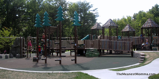 backyard playground surface ideas