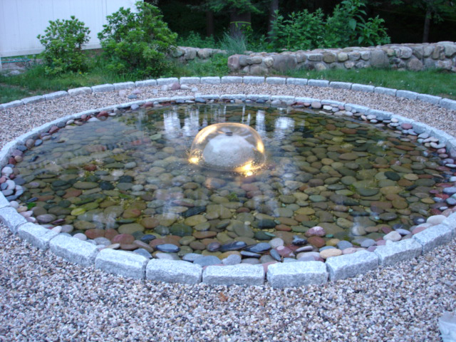 Backyard pond kits Design and Ideas