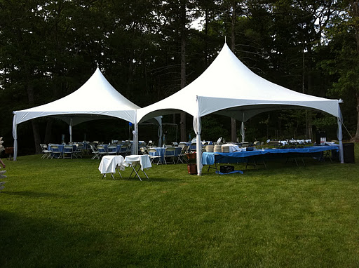 Charmant Backyard Tent Rental Bridgewater