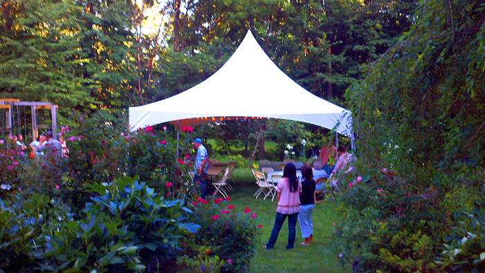 backyard tents for parties