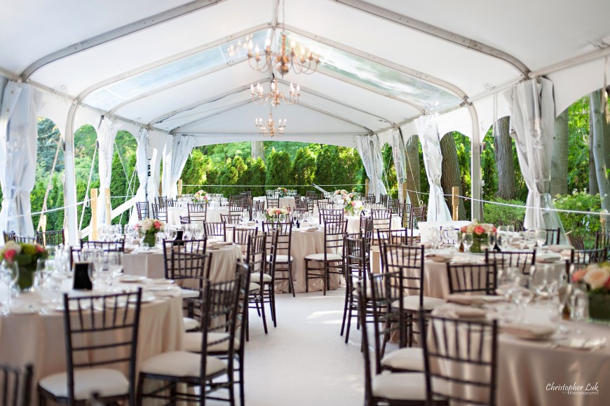 95 backyard party tent ideas party tent guest table for Cheap wedding venues ontario