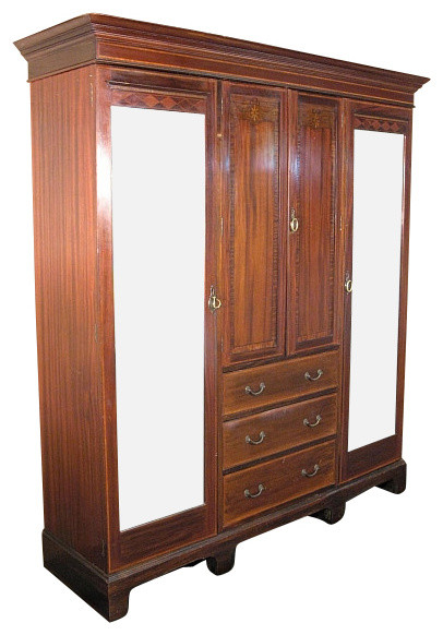Bedroom Furniture Handled Door