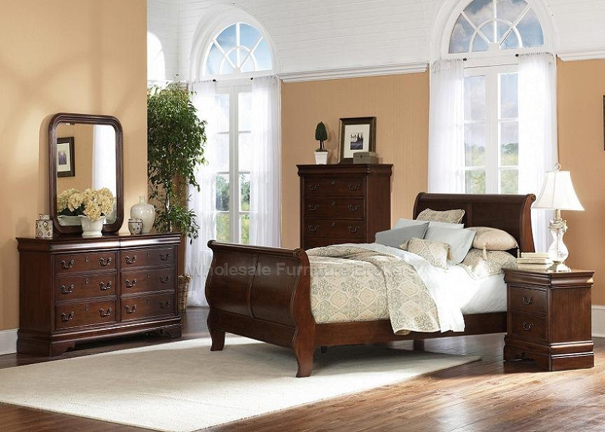Bedroom Furniture Sleigh bed photo - 2