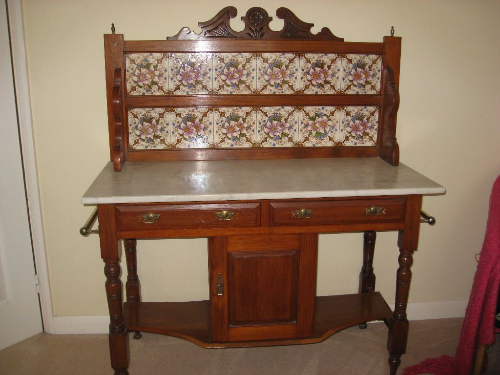 Bedroom Furniture Wash Stand photo - 2