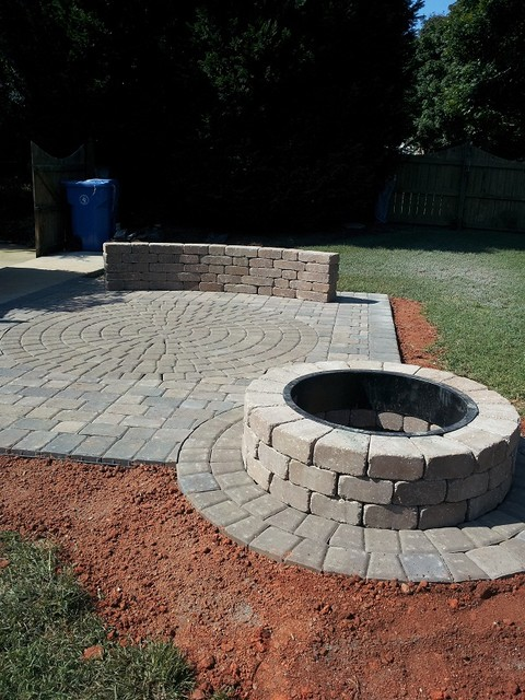 belgard paver fire pit  photo - 3