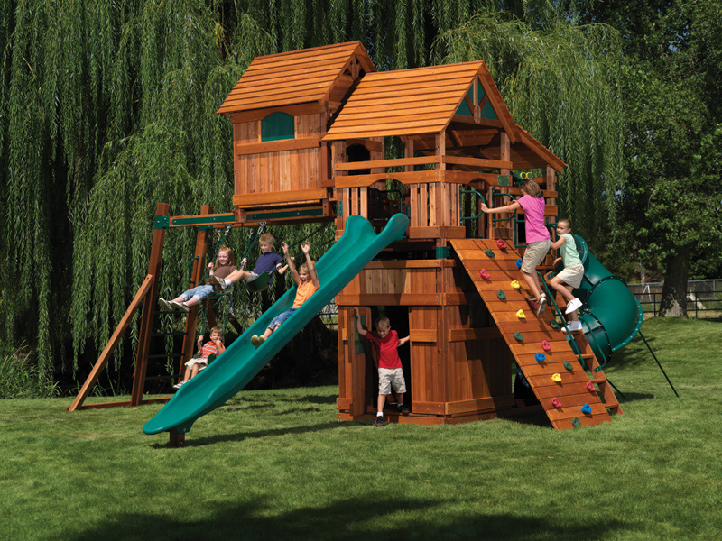 best backyard playgrounds