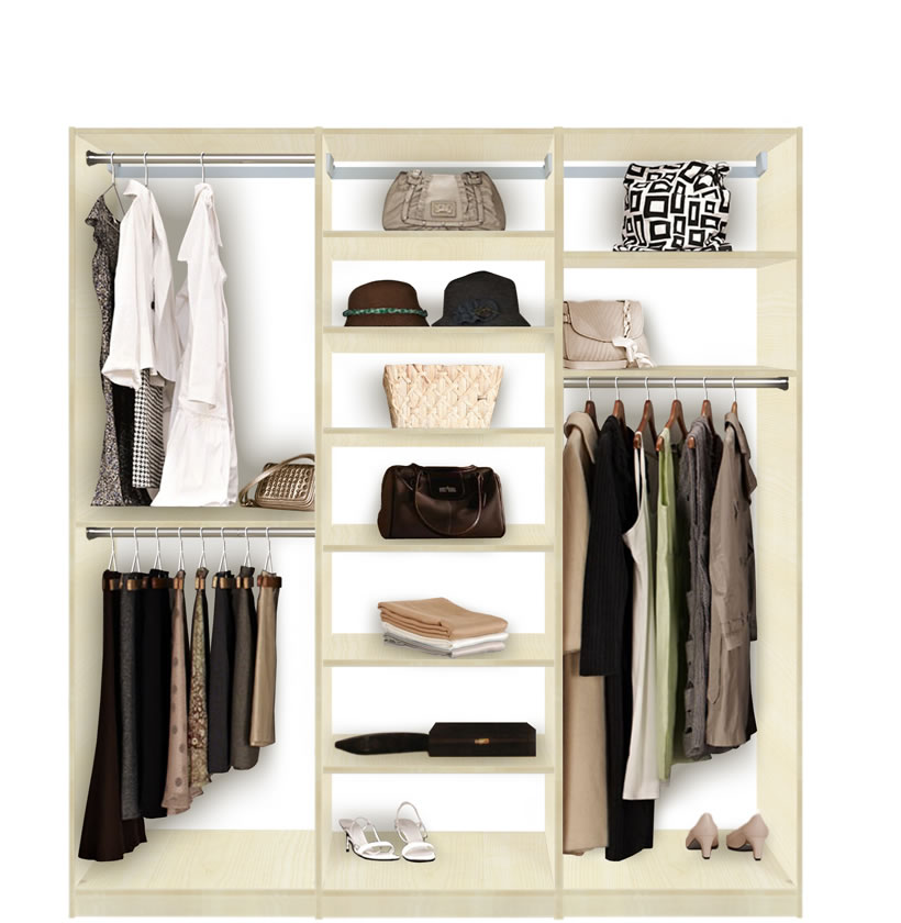 Best Closet Hanging System Photo   1