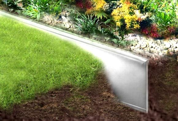 best metal landscape edging