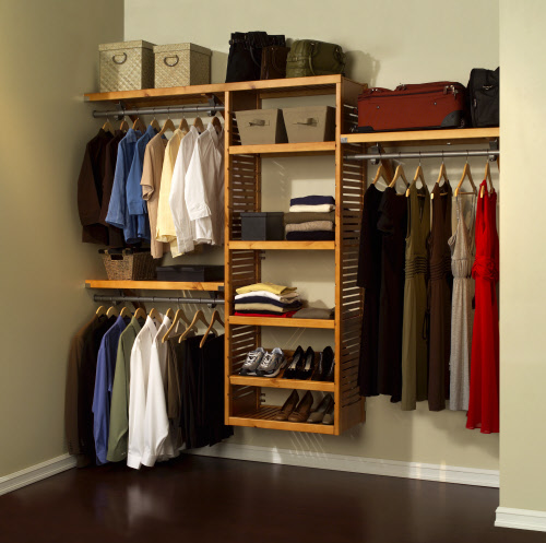best wood closet systems  photo - 1