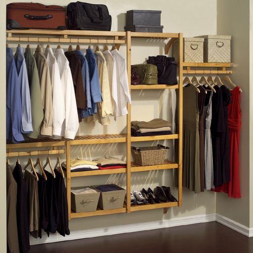 best wood closet systems  photo - 3