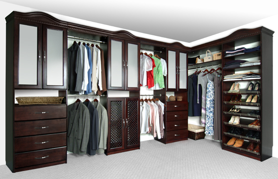 best wood closet systems  photo - 2