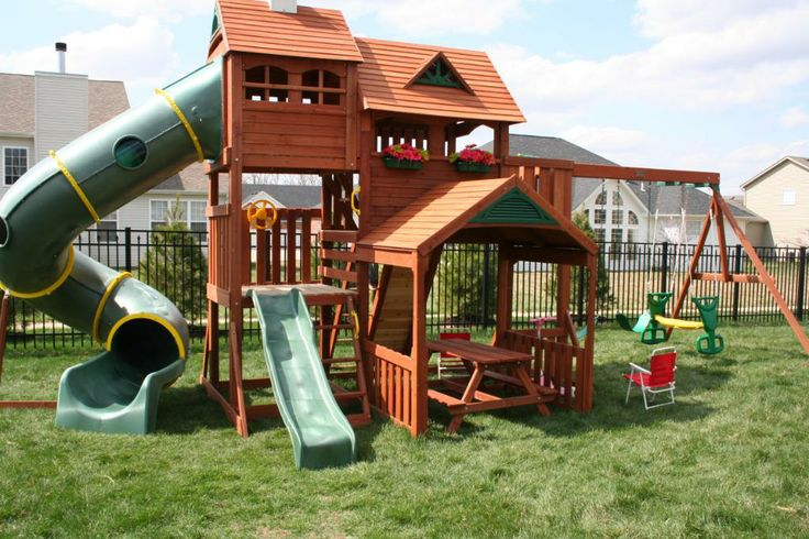 big backyard playgrounds