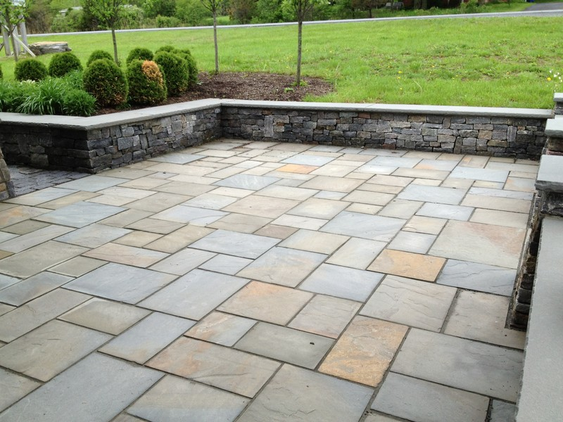 blue stone patio pictures  photo - 3