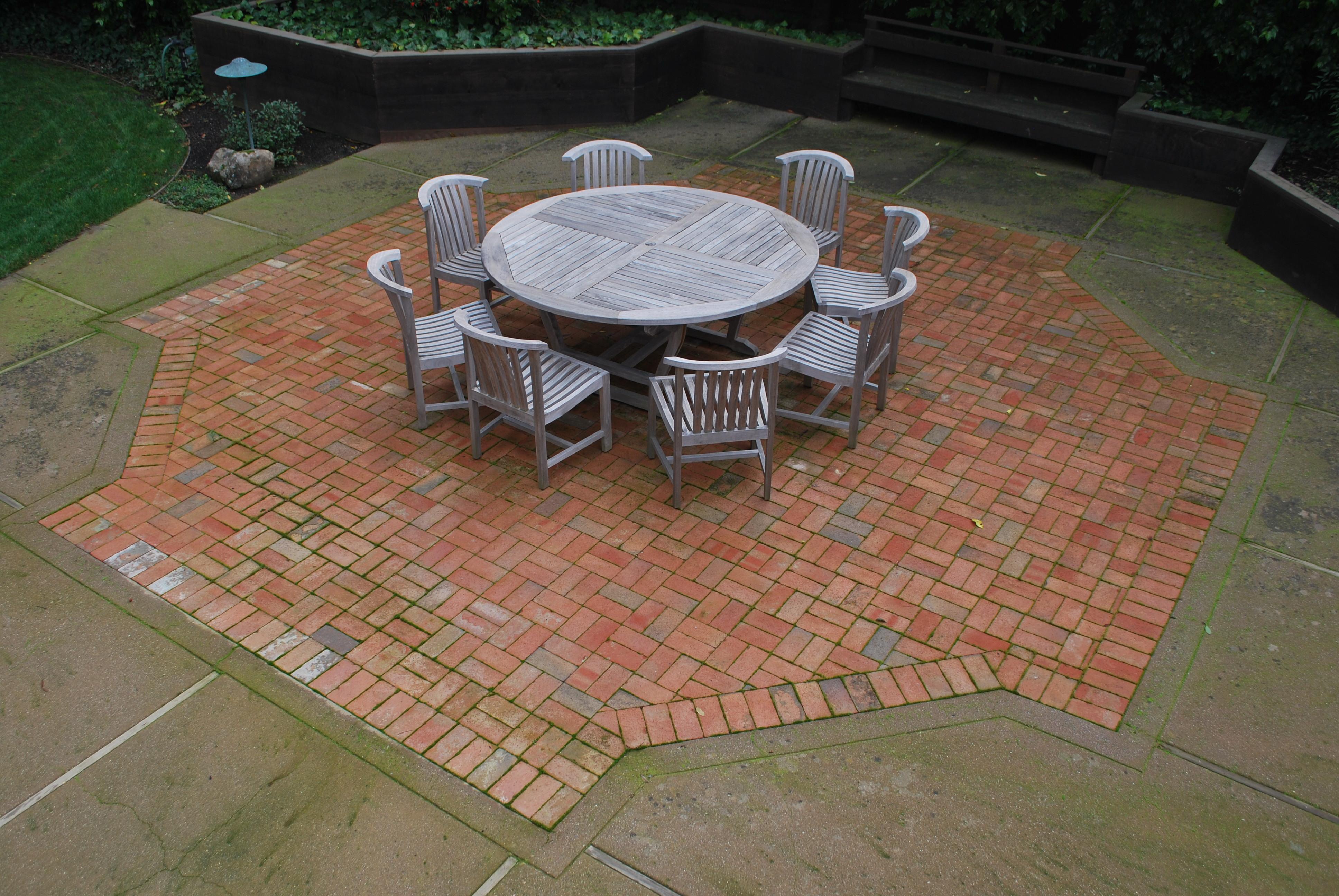 Brick Patio Patterns Designs Photo   3