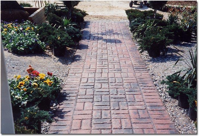 Brick Patio Patterns Beginners