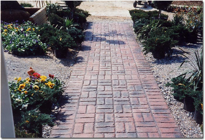 Brick Patio Patterns Beginners