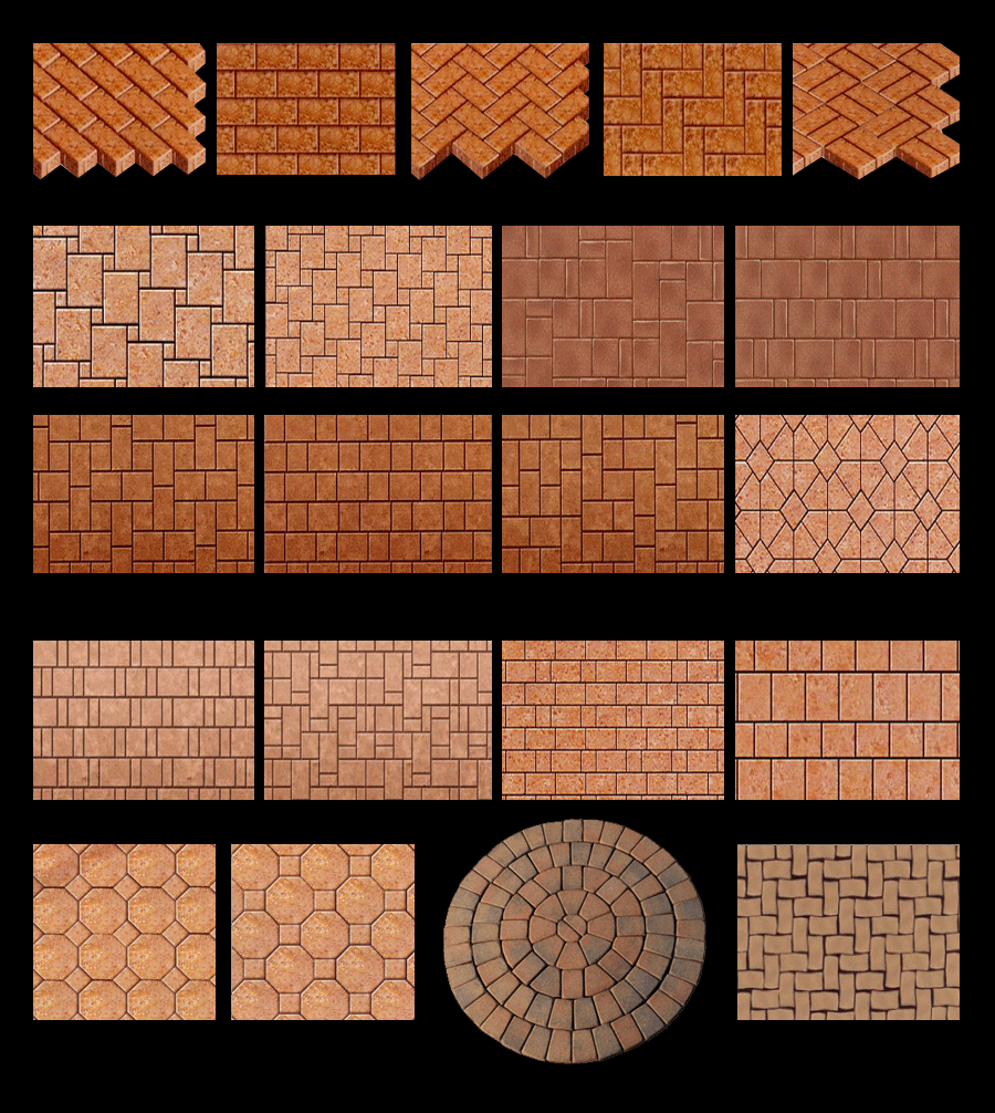 brick paver patio patterns » design and ideas