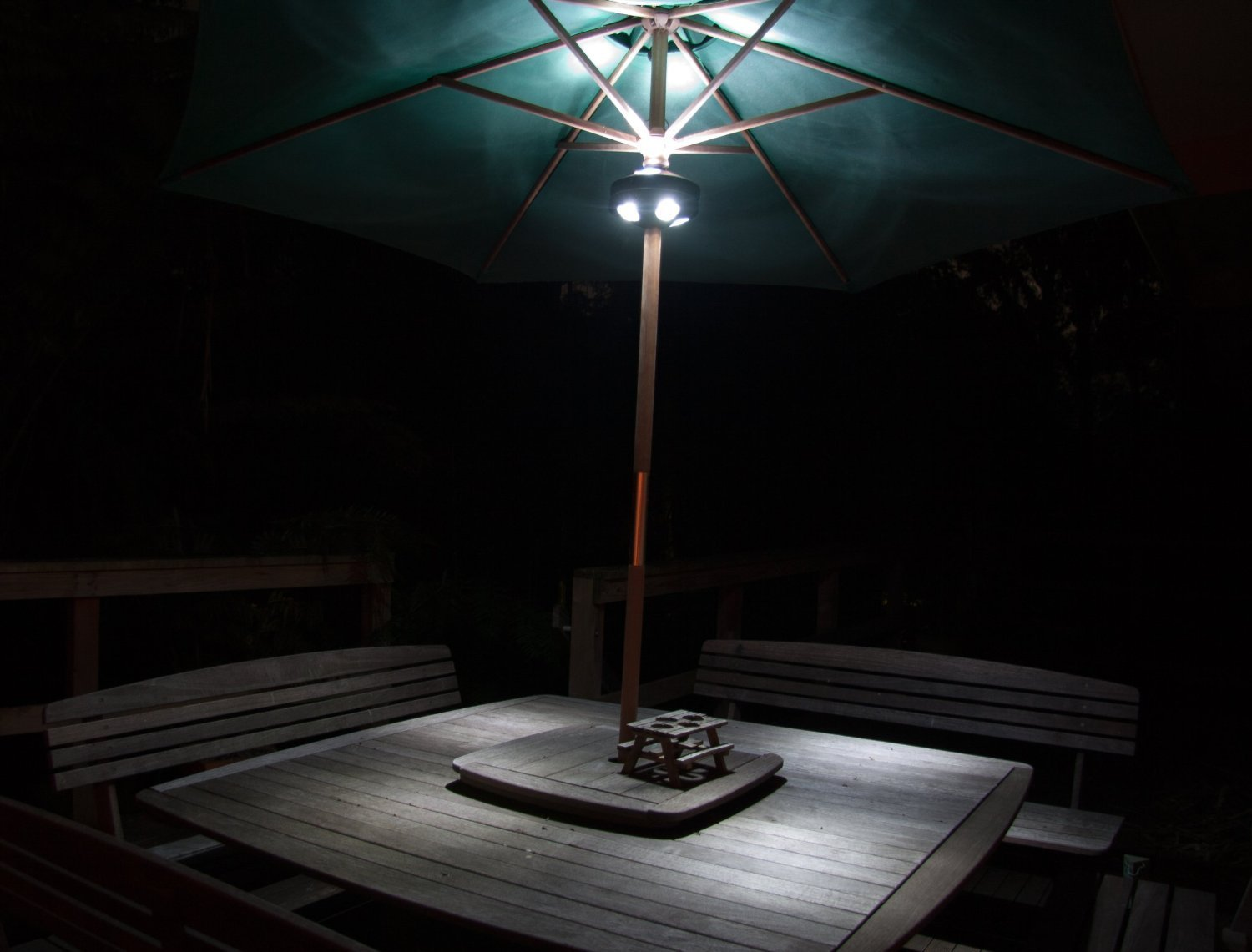 bright led patio lights