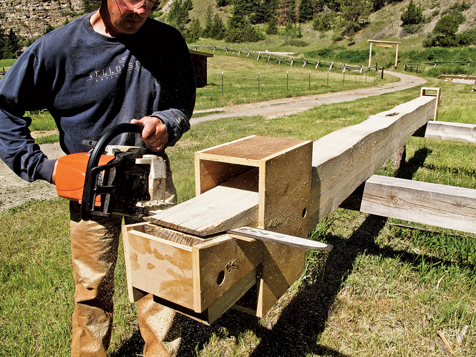 Build A Cabin With A Chainsaw Photo   2