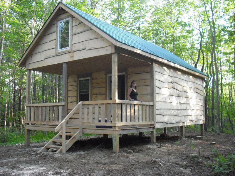Build A Cabin With A Loft Photo   3