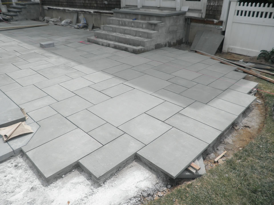 building a bluestone patio » Design and Ideas