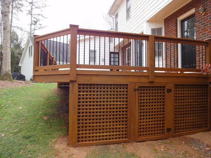 Building Deck Lattice Design And Ideas