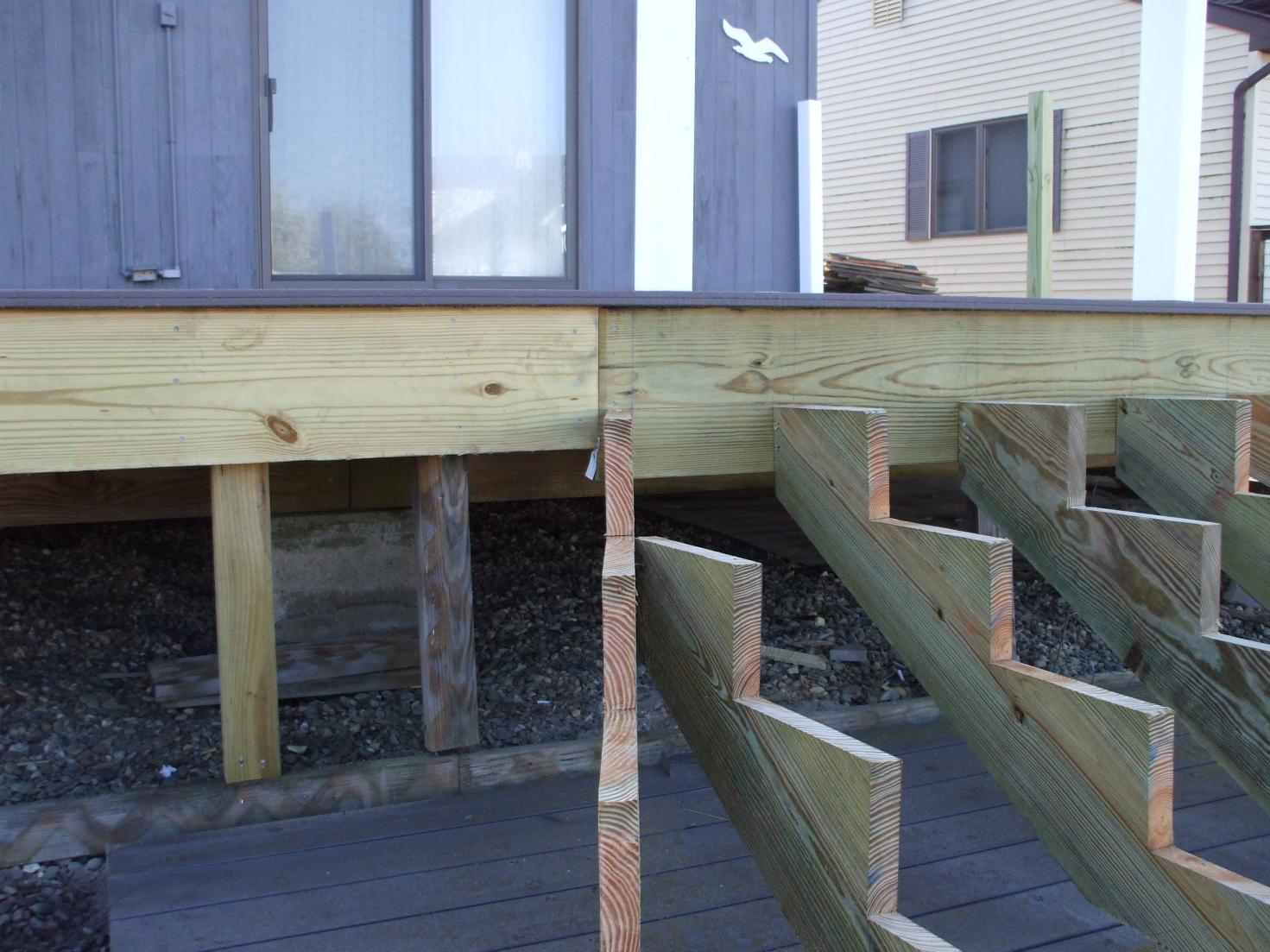 Building Deck Stairs Inside Corner 187 Design And Ideas