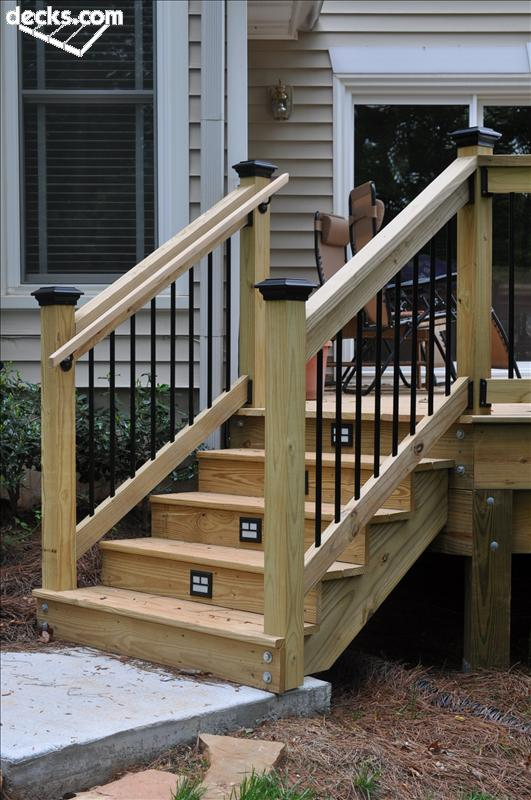 Building Deck Stairs Design And Ideas