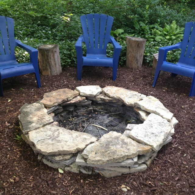 Building Fire Pit Rocks photo - 2 - Building Fire Pit Rocks » Design And Ideas