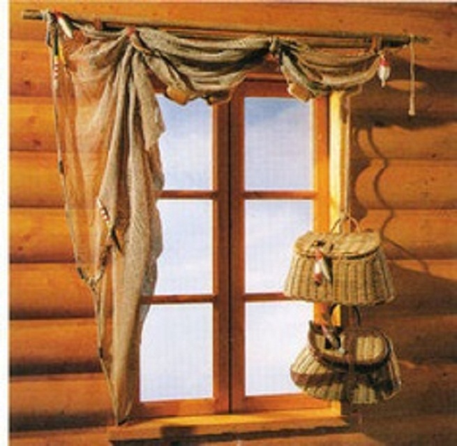 cabin curtains window treatments
