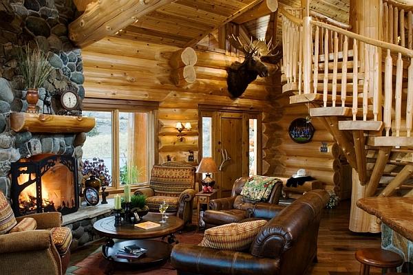 Log Cabin Style Home Decor