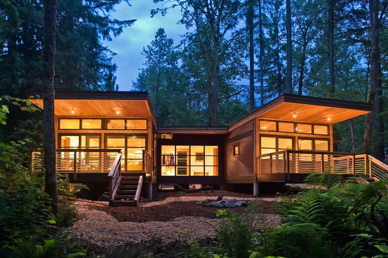 cabin style kit homes australia Design and Ideas