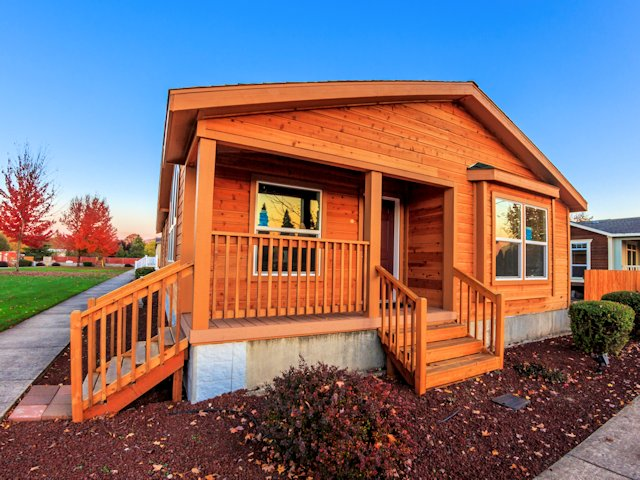 cabin style manufactured homes oregon